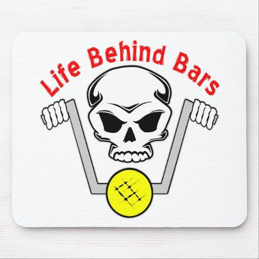 Life Behind Bars Biker Mouse Pad