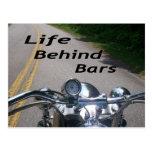 Life Behind Bars Postcard