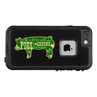 Life Better With Pigs LifeProof FRĒ iPhone 6/6s Case