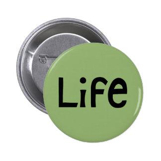 Life black Button