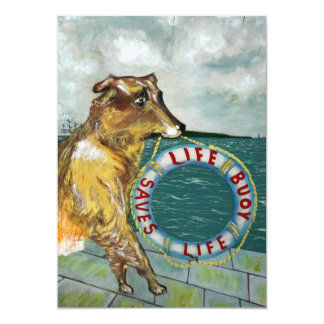Life Buoy soap vintage advertising poster Card