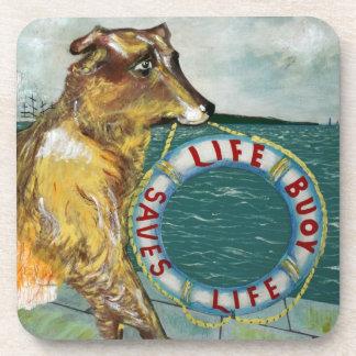 Life Buoy soap vintage advertising poster Beverage Coaster