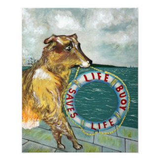 Life Buoy soap vintage advertising poster Photograph