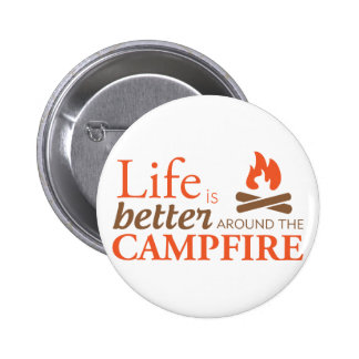 Life by a Campfire Button