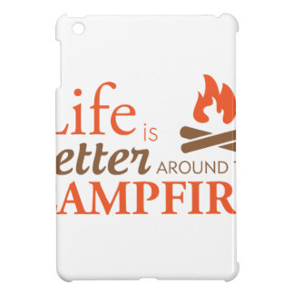 Life by a Campfire iPad Mini Covers