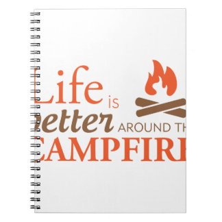 Life by a Campfire Notebook