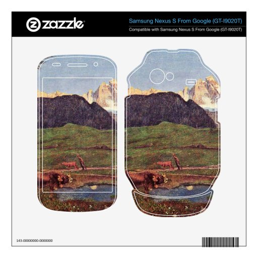 Life by Giovanni Segantini Decal For Google Nexus S
