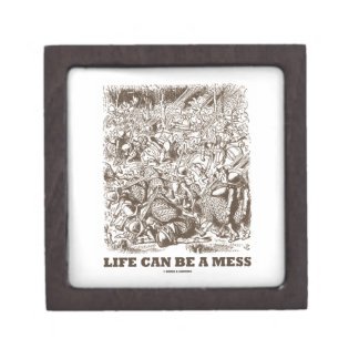 Life Can Be A Mess (Wonderland Looking Glass) Gift Box