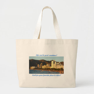 Life can be good – Santa Marta Tote Bags