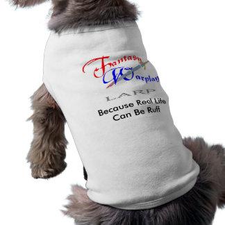 Life Can Be Ruff Doggie T Tee