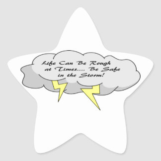 Life Can Be Tough... Star Sticker