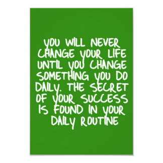 LIFE CHANGES LOGICAL STEPS MOTIVATIONAL QUOTES SAY CARD