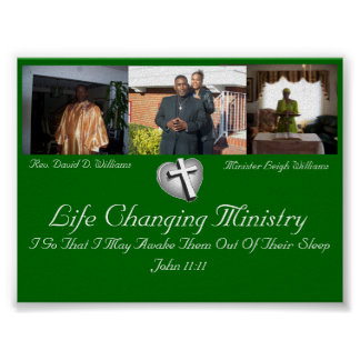 Life Changing Ministry Poster