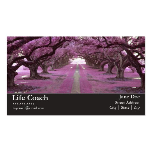 Life coach business card zazzle for Life coaching business cards