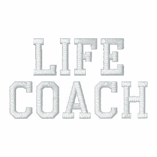 life coach embroidered hoody