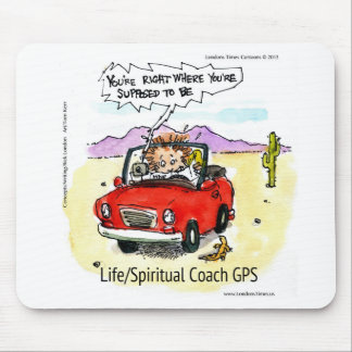 Life Coach GPS Mouse Pad