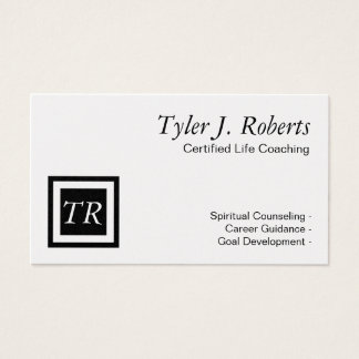 Life Coach Spiritual Counseling Career Guidance Business Card