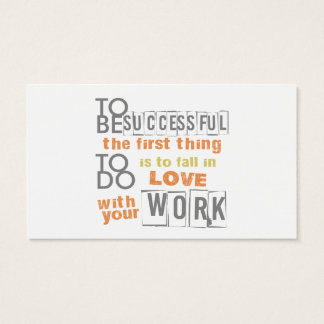 Life Coach Text Design Business Card
