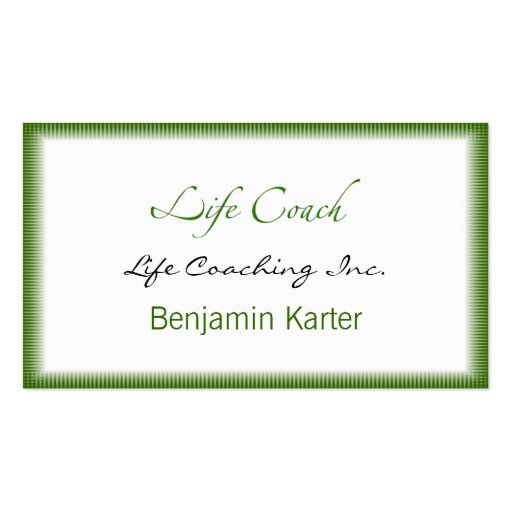 Life coach business card templates page5 bizcardstudio for Life coaching business cards