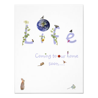 Life: Coming to our home soon-baby shower invite