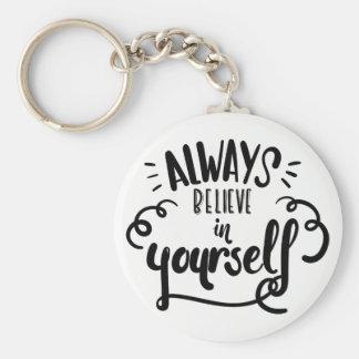 Life Confidence  Attitude Goals Motivational Quote Keychain