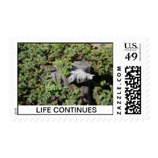 Life Continues Stamp