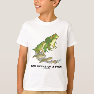 Life Cycle Of A Frog (From Egg To Tadpole To Frog) T-Shirt