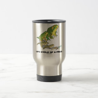 Life Cycle Of A Frog (From Egg To Tadpole To Frog) Travel Mug