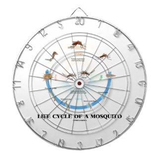 Life Cycle Of A Mosquito (Egg Larva Pupa Imago) Dartboards