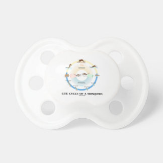 Life Cycle Of A Mosquito (Egg Larva Pupa Imago) Pacifier