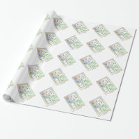 Life Cycle Of A Typical Moss Wrapping Paper