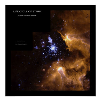 Life Cycle of Stars - Posters From Space