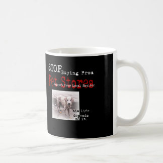 Life Depends On It Animal Rescue Mug