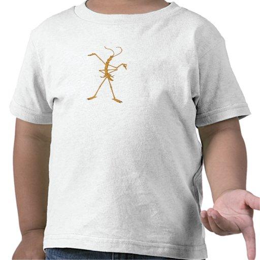 Life Disney delgado de un insecto Camisetas