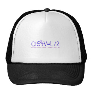 Life Divided by 2 Trucker Hat