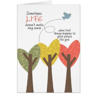 LIFE doesn't make any sense Greeting Card