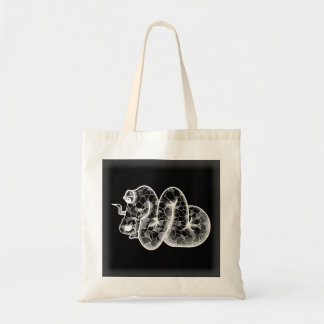 LIFE  DRAGON  black Tote Bag