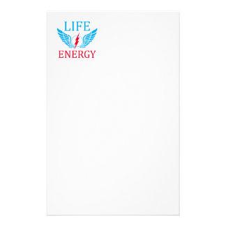 Life energy stationery
