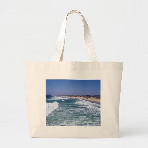 Life Enjoyment - Hermosa Beach California Canvas Bag
