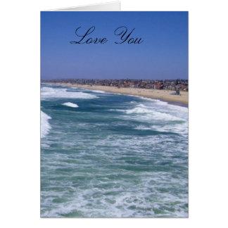 Life Enjoyment - Hermosa Beach California Card