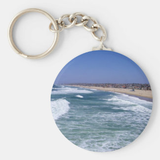 Life Enjoyment - Hermosa Beach California Keychains