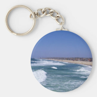Life Enjoyment - Hermosa Beach California Key Chain