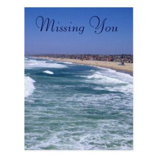 Life Enjoyment - Hermosa Beach California Postcard