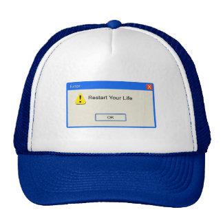 Life Error Mesh Hats