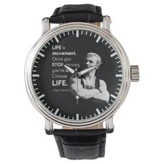 Life - Eugen Sandow Bodybuilding Motivational Watch