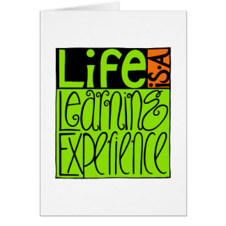 Life Experience Card