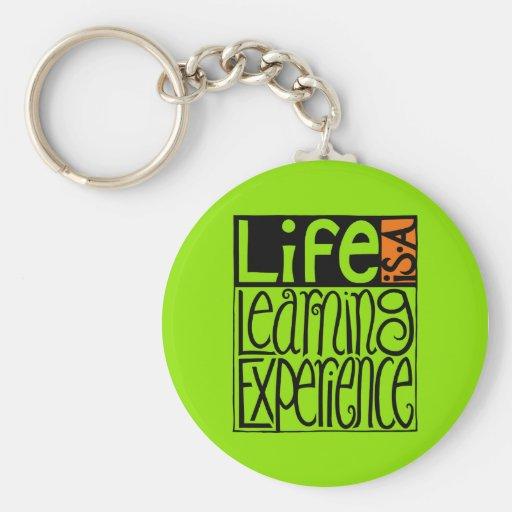 Life Experience Keychain