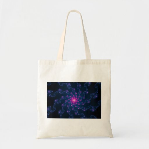 Life Flower Fractal Art Bag