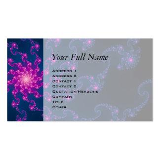 Life Flower Fractal Art Business Card
