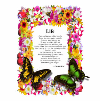 Life - Flower Garden 4X6 Photo Cutouts